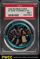 1966 Batman Coin Give Yourself Up Penguin. Your Fateful #7 PSA 7 NRMT (PWCC)