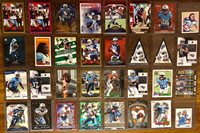 Tennessee Titans And Houston Oilers 32 Card Lot