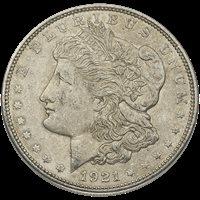 AMERICAN SILVER DOLLAR 1921 MORGAN