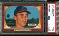 1955 Bowman #296 Bill Virdon PSA 7
