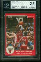 1984 Star 101 MICHAEL JORDAN Rookie Chicago Bulls BGS 2.5