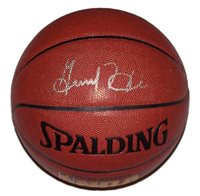 A Spalding NBA basketball signed by Grant Hill of the Phoenix Suns. Comes with a Certificate of Authenticity.
