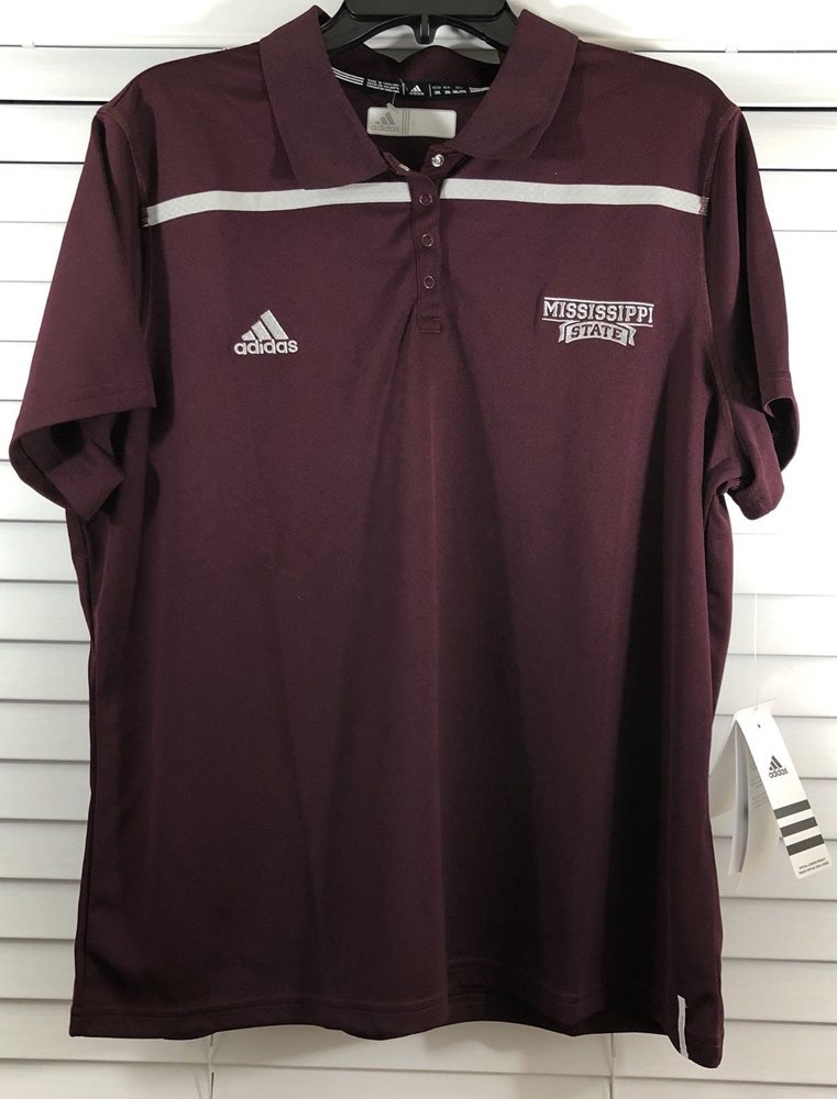 on feet images of cozy fresh timeless design Texas A&M Aggies Adidas Climacool Women's Polo Shirt Size 2XL MAROON