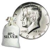 40% Silver Kennedy Half Dollars (1965-1969)40% Silver Kennedy Half Dollars (1965-1969)40% Silver Kennedy Half Dollars (1965-1969)