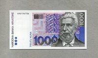 1 000 Kuna 31 10 1993(94) Kroatien P 35a/ Ante Starcevic 1823-1896 -