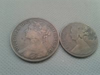 OLD COIN LOTS **World/Foreign coins 1880/1861!! *COLLECTIBLES*