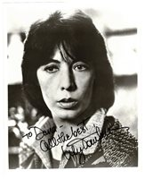 LILY TOMLIN HAND SIGNED 8x10 PHOTO LEGENDARY ACTRESS AUTOGRAPH vintage B&W photo