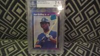 1989 Donruss Ken Griffey #33 Baseball Card GRADED 7.5 BVG