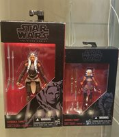 "Star Wars Black Series Ahsoka Tano 6"" and 3.75"" scale Clone Wars Rebels"