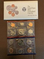 1992 Denver and Phila. mint uncirculated coin set