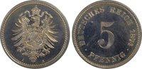 German Empire 5 Pfennig Copper-Nickel 1874-A (Berlin)