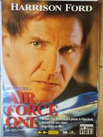 HARRISON FORD AIR FORCE ONE Australian VIDEO release POSTER
