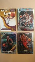 Collin Sexton 4 card lot Threads RC + 2nd year prizm, optic silver, hoops lazer