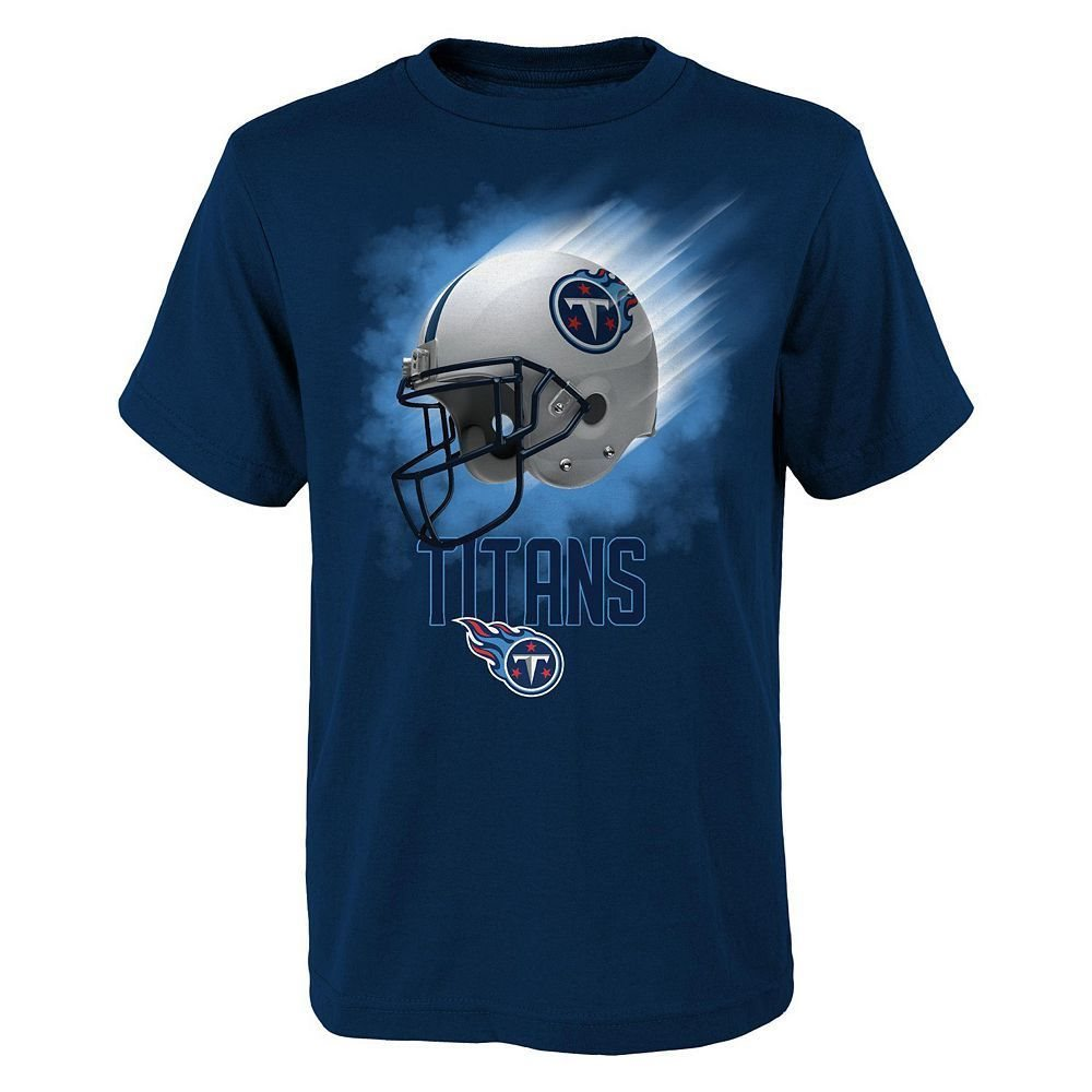 huge discount 8fe26 5083a (2018-2019) Tennessee Titans nfl Jersey Tee T-Shirt YOUTH KIDS BOYS (xl)