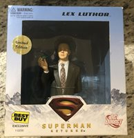 DC Direct Superman Returns Lex Luthor Limited Edition Exclusive Bust Best Buy