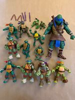 TEENAGE MUTANT NINJA TURTLES LOOSE TOY ACTION FIGURE LOT TMNT ANIMATED CARTOON