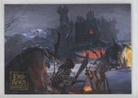 2006 Topps Lord of the Rings Masterpieces EA Paintings Goblin Camp #56 5f7