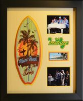Beach Boys Surf Board Sign