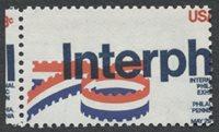 United StatesScott #1632 (2011 Scott Value $0.20), Unused, NH, VF. 13c Interphil (#1632) color shift.Stamp #23943 | Price: $30.00Add To Cart