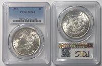 1888 $1 Morgan Dollar PCGS MS 64