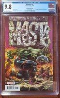 MAESTRO #1 CGC 9.8 NM/MT Bennett Variant Incredible HULK Annual #1 Cover Homage
