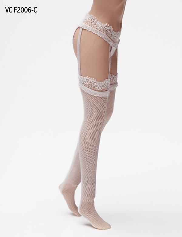 VERYCOOL 1//6 Lace Garter Stockings W// Briefs For Phicen Hot Toys SHIP FROM USA