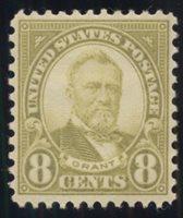United StatesScott #640 (2020 Scott Value $3.20), Unused, NH, F-VF. 8c Grant. Generic scan.Stamp #49612 | Price: $1.60Add To Cart