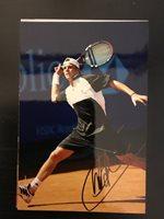 Paul-Henri Mathieu- French Tennis Player - Signed 4x6 photo - autograph