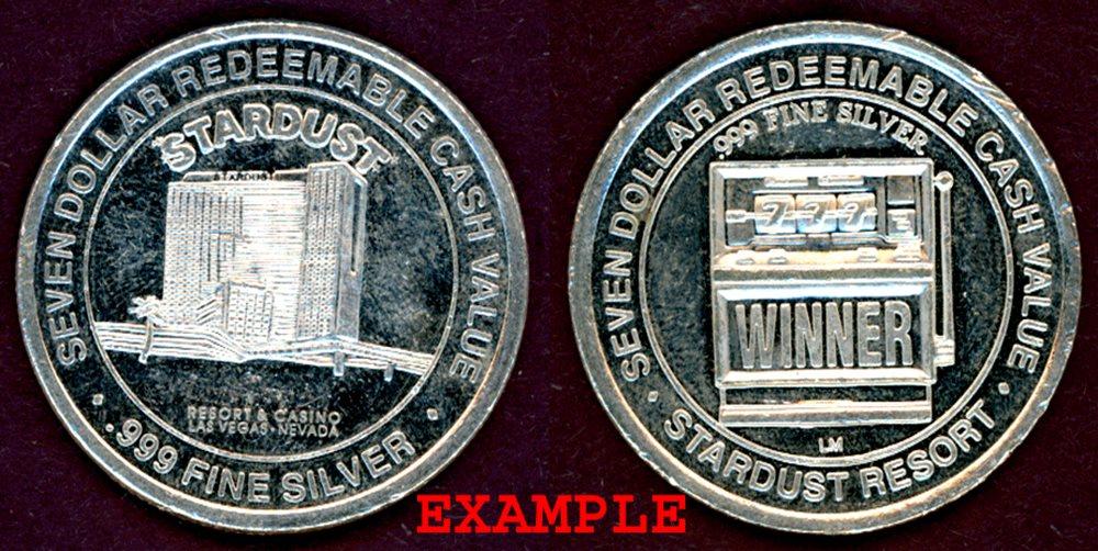 stardust casino silver coin