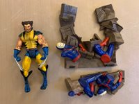 MARVEL LEGENDS WOLVERINE SERIES 6 CHASE VARIANT LOOSE COMPLETE ACTION FIGURE