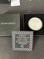 Silver Shield 2016 Half Proof Pieces Of Eight With Box And COA 281/465