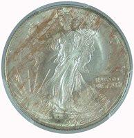 1942 50C Walking Liberty Half Dollar PCGS MS 64