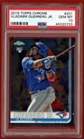 2019 TOPPS CHROME #201 VLADIMIR GUERRERO RC PSA 10 GEM MINT