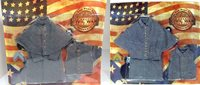 1/6 Highly Detailed ITPT Civil War Confederate 5 and 12 button overcoat LOT