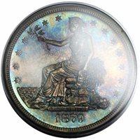 1879 Trade $1ProofPF64 [PCGS Rattler]