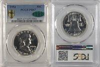1954 50¢ Franklin Half Dollar PCGS PR 67- 901