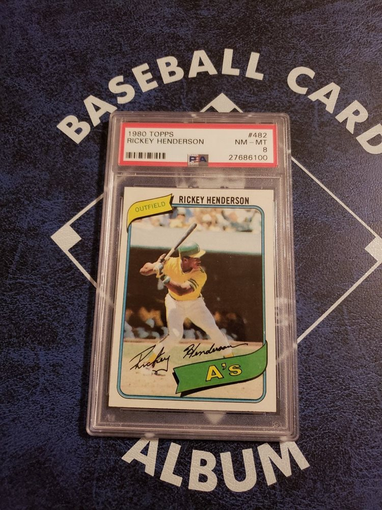 1980 Topps Baseball Complete Set W Psa 8 Rickey Henderson Rookie Card