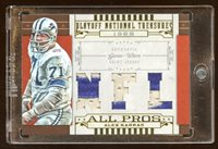 08 TREASURES ALEX KARRAS TRIPLE PATCH LOGO #D /12 PRIME PATCH ALL PROS LIONS