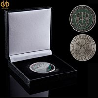 USA Challenge Military Special Forces Green Berets De Oppresso Liber Coin/ Badge