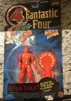Toybiz 1994 Marvel Comics Fantastic Four Human Torch Action Figure