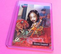 2007 HOLLYWOOD ZOMBIES Naomi Campbell HORROR TRADING CARD