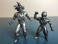 2000 FUN Inc. Burger King Dragon Ball Z DBZ Goku Set of 2 Action Figures
