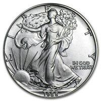 1988 Silver Eagle - Brilliant Uncirculated