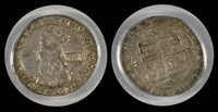 (1660-62) 4D S-3324 Great Britain AU55 PCGS