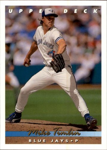 1993 Upper Deck Baseball Card 322 Mike Timlin