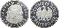Third Reich 2 Reichsmark Silver Luther 1933-F (Stuttgart)