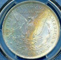 HGR 1883-O $1 Morgan ((Beautiful RAINBOW Toning)) PCGS MS-62 (41440)