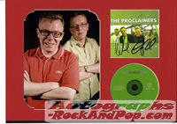 The Proclaimers - autographed CD sleeve #1003