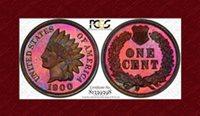 1900 Indian Cent PR64RB PCGS