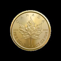 2019 1/4 oz Canadian Gold Maple Leaf